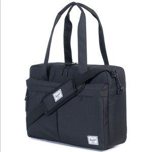 Herschel Gibson Blk Briefcase Comp bag New w tags